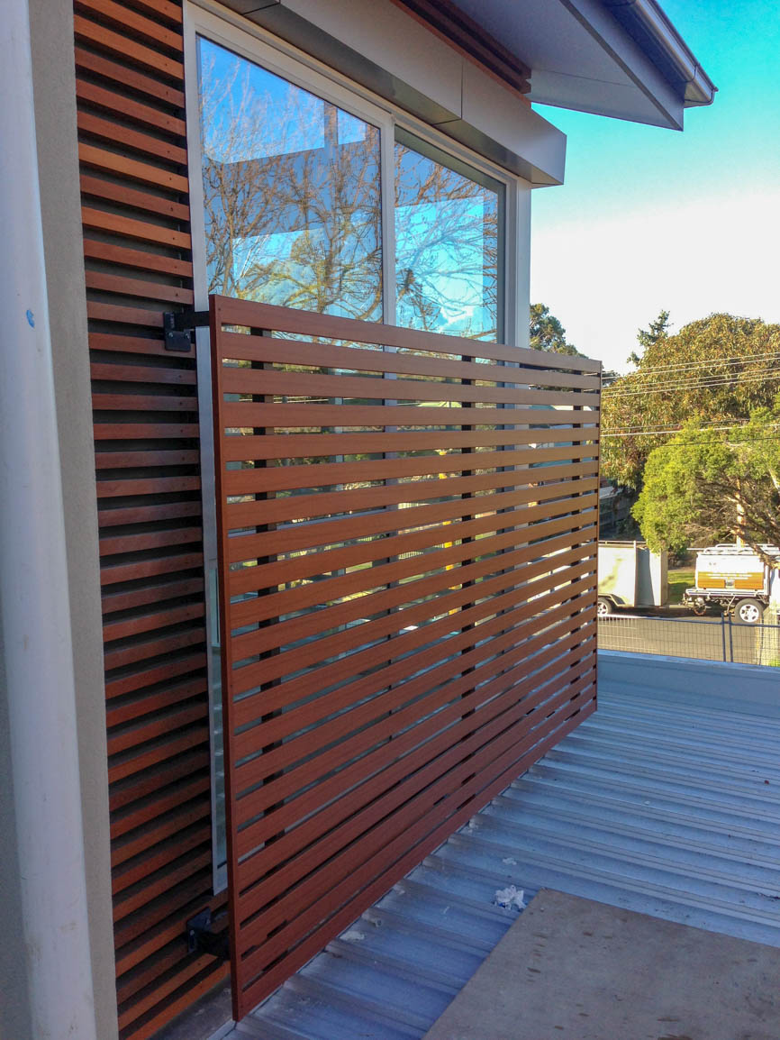 Aluminium Screening Melbourne by Maximum Designs