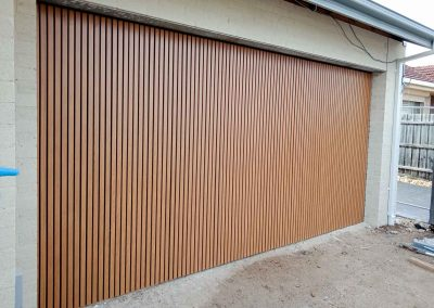 Maximum Designs timber effect garage door Melbourne